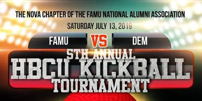 5th Annual HBCU Kickball Tournament