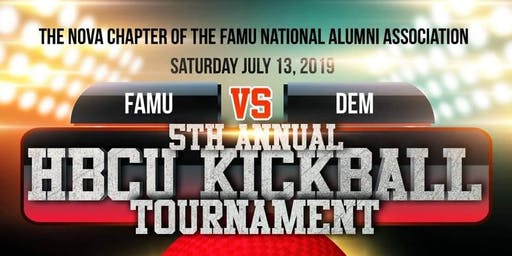5th Annual HBCU Kickball Tournament