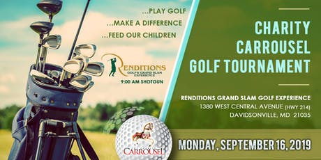The Charity Carrousel 7th Annual Golf Tournament - 10% off Early Bird Pricing Until 7/31/19 tickets