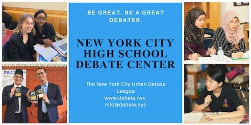 NYC High School Debate Center