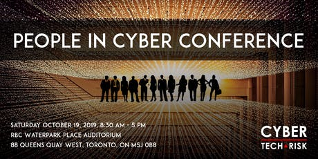 Cyber Tech & Risk - People in Cyber Conference 2019 tickets