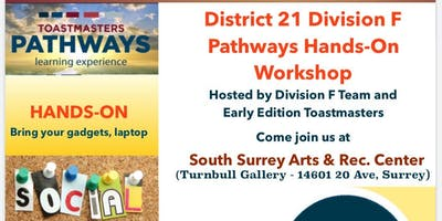 May 11th Pathways Hands-On Workshop