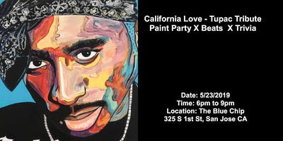 Part 2 California Love-Tupac Tribute Paint Party, Trivia and Beats