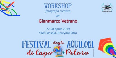 WORKSHOP DI FOTOGRAFIA CREATIVA