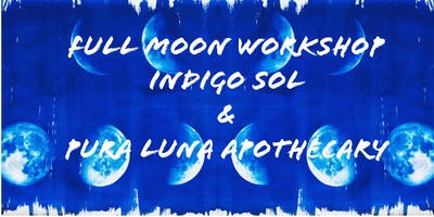 Full Moon Indigo Print Workshop