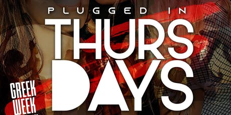 Plugged In Thursday's EVERYBODY FREE! tickets