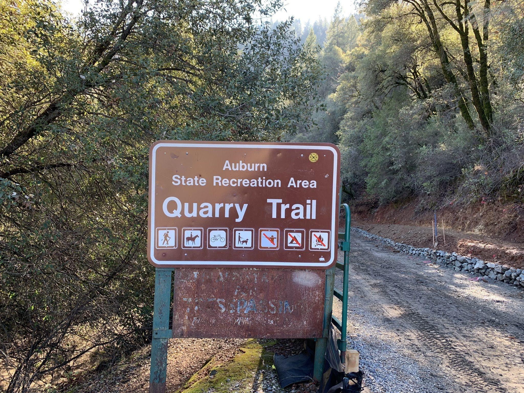 CVOC Quarry Trail Hike RSVP
