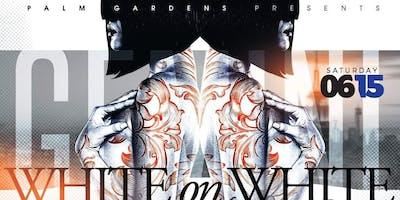 Palm Gardens Presents The White-On-White Gemini Birthday Bash