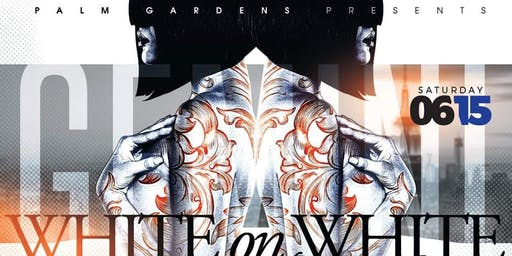 Palm Gardens Presents The White-On-White Gemini Birthday Bash