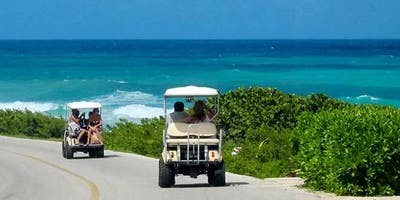 Nicole & Taylor's Island Golf Cart Scavenger Hunt