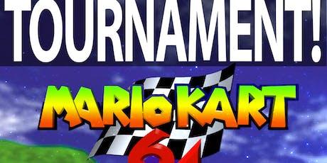 Mario Kart N64 Tournament tickets