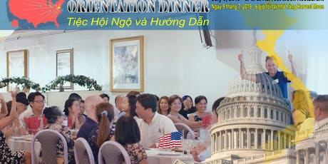 Vietnam Advocacy Day 2019 - Orientation Dinner tickets
