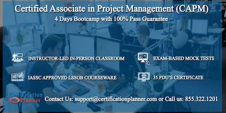 Certified Associate in Project Management (CAPM) 4-days Classroom in Saskatoon tickets