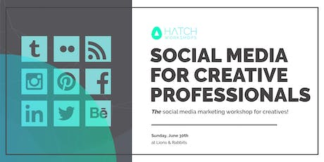 Social Media for Creative Professionals tickets