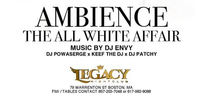 """Ambience """"The All White Affair"""""""