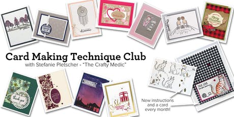 Card Making Technique Club tickets