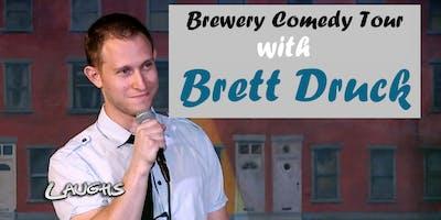 BREWERY COMEDY TOUR with Brett Druck in Redmond, WA