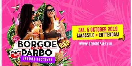 BORGOE -meets- PARBO | Zaterdag 5 oktober 2019 tickets
