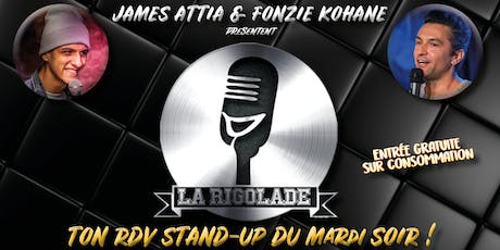 LA RIGOLADE - COMEDY CLUB billets