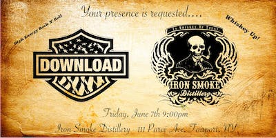 Download Debuts at Iron Smoke Distillery