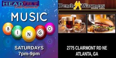 Music Bingo at Benchwarmers Sports Grill - Atlanta, GA