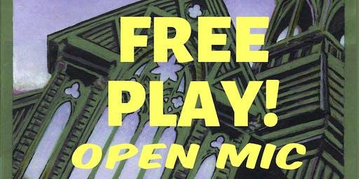 FREE PLAY - Open Mic