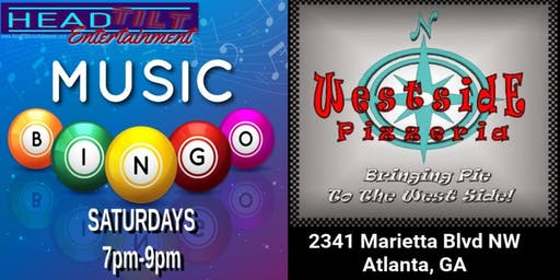 Music Bingo at Westside Pizzeria