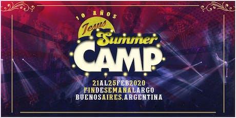 Jesus Summer Camp #JSC10AÑOS 21 a 25 de Febrero 2020 entradas