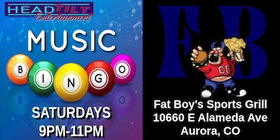 Music Bingo at Fat Boy's Sports Grill