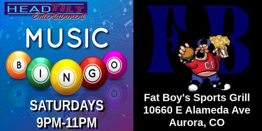 Music Bingo at Fat Boy's Sports Grill