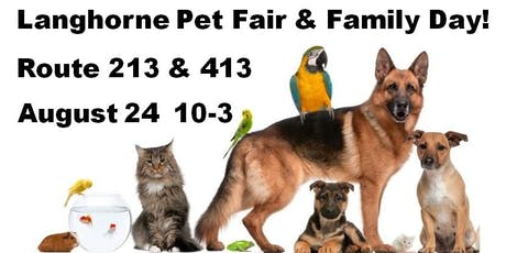 Langhorne Pet Fair & Family Day 2019   tickets