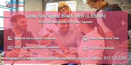 Lean Six Sigma Black Belt (LSSBB) 4 Days Classroom in Edison tickets