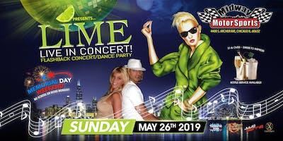 Lime in Concert - Memorial Day Weekend