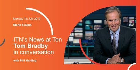 The Media Society: ITN's Tom Bradby In conversation with Phil Harding tickets