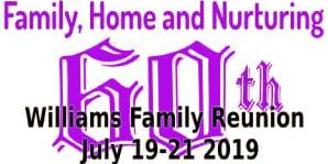 Williams 60th Family Reunion