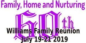 Williams 60th Family Reunion