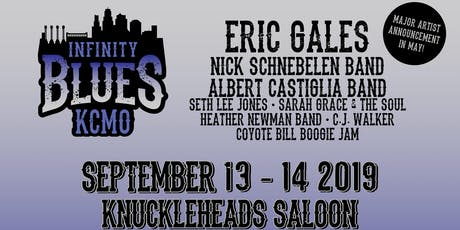 Eric Gales, Seth Lee Jones, Heather Newman Band, CJ Walker, Coyote Bill Boogie Jam Infinity Blues Show tickets