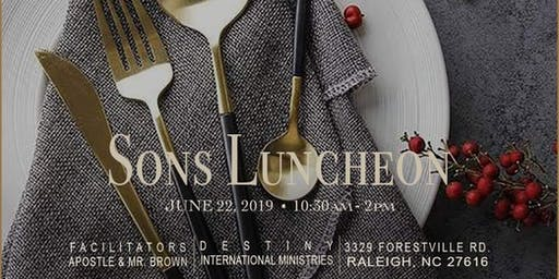 SON'S LUNCHEON - FREE EVENT!!