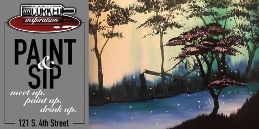 Paint & Sip | River Trees