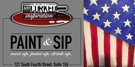 Paint & Sip | Flag tickets