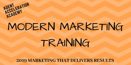 Modern Marketing Training tickets