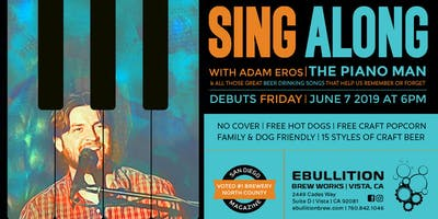 Sing Along With The Piano Man To All Your Favorite Beer Songs At Ebullition Brew Works