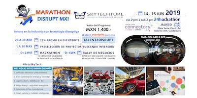 Marathon Disrupt MX! Convoca: Auto Energia Ciudad + IoT AI i4.0