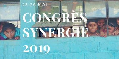 SAMEDI SEULEMENT- CONGRÈS SYNERGIE 2019