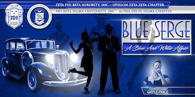 Blue Serge: A Blue & White Affair