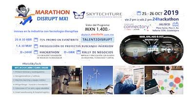 Marathon Disrupt MX! Convoca: Aero Clima Salud + IoT AI i4.0