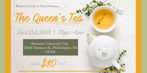 The 14th Annual Queen's Tea