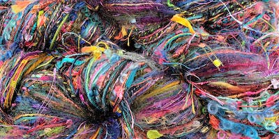 Second Chance Skeins -- Upcycled Art Yarn Workshop