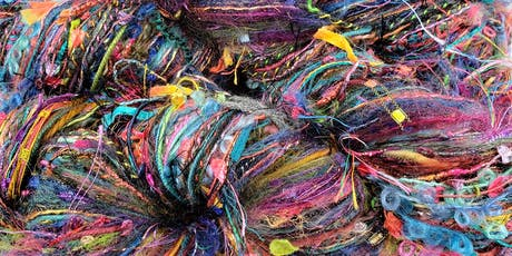 Second Chance Skeins -- Upcycled Art Yarn Workshop tickets