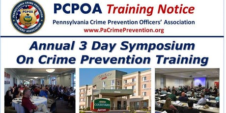 3 Day Crime Prevention Training Symposium tickets